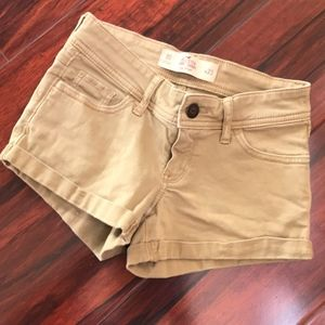 Hollister denim shorts low rise size 00 W 23